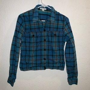 Pendleton Plaid Shorter Flannel Top or Jacket